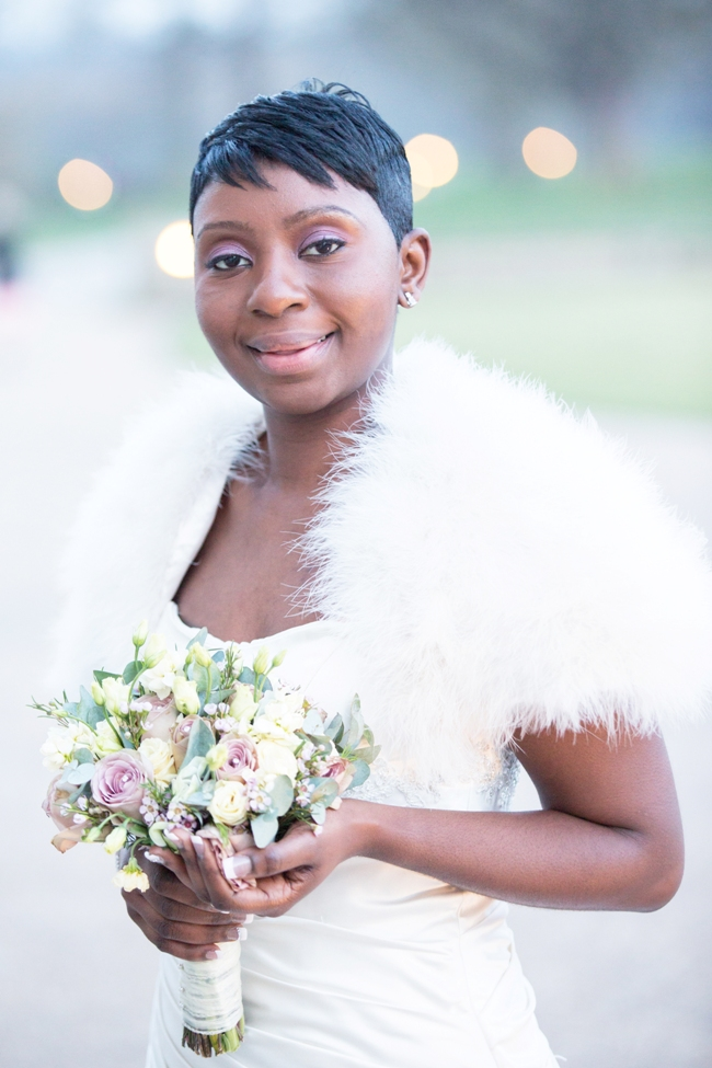 Bridal Makeup Artist for Black women in London
