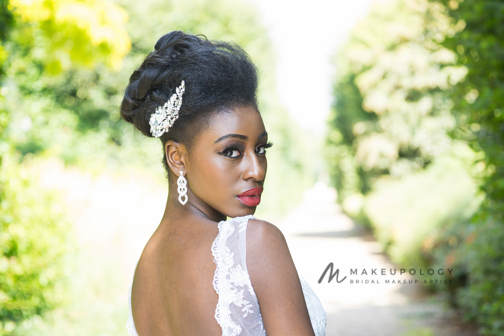 Makeupology Bridal Makeup Artist in London for black skin.