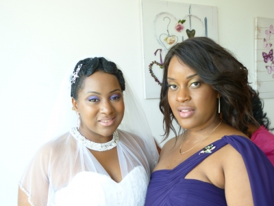 Black, European & Asian bridal makeup artist London