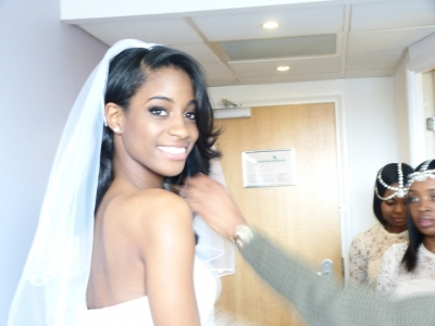 Bridal Makeup Artist for Black and Mixed Race women in London