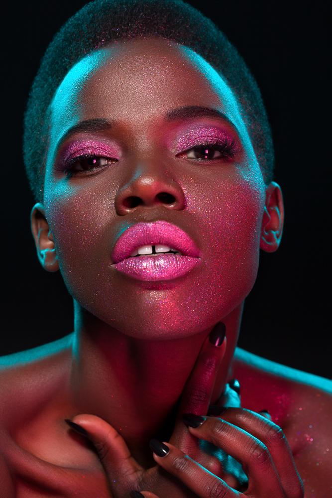 Editiorial makeup artist