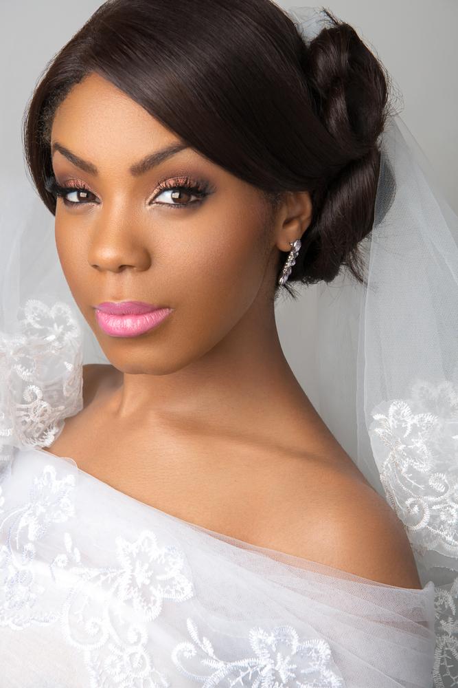 Bridal Makeup Artist for Black women in London