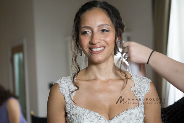 Makeupology Bridal makeup artist for black skin in London.