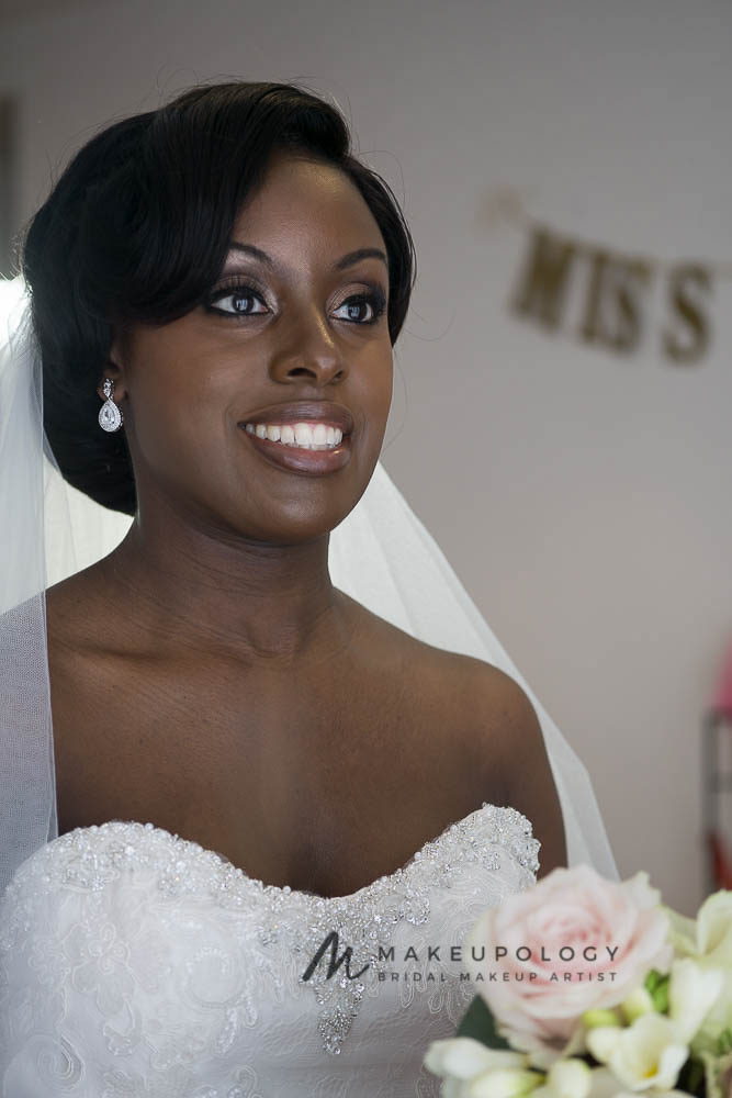 Bridal Makeup for Black Skin