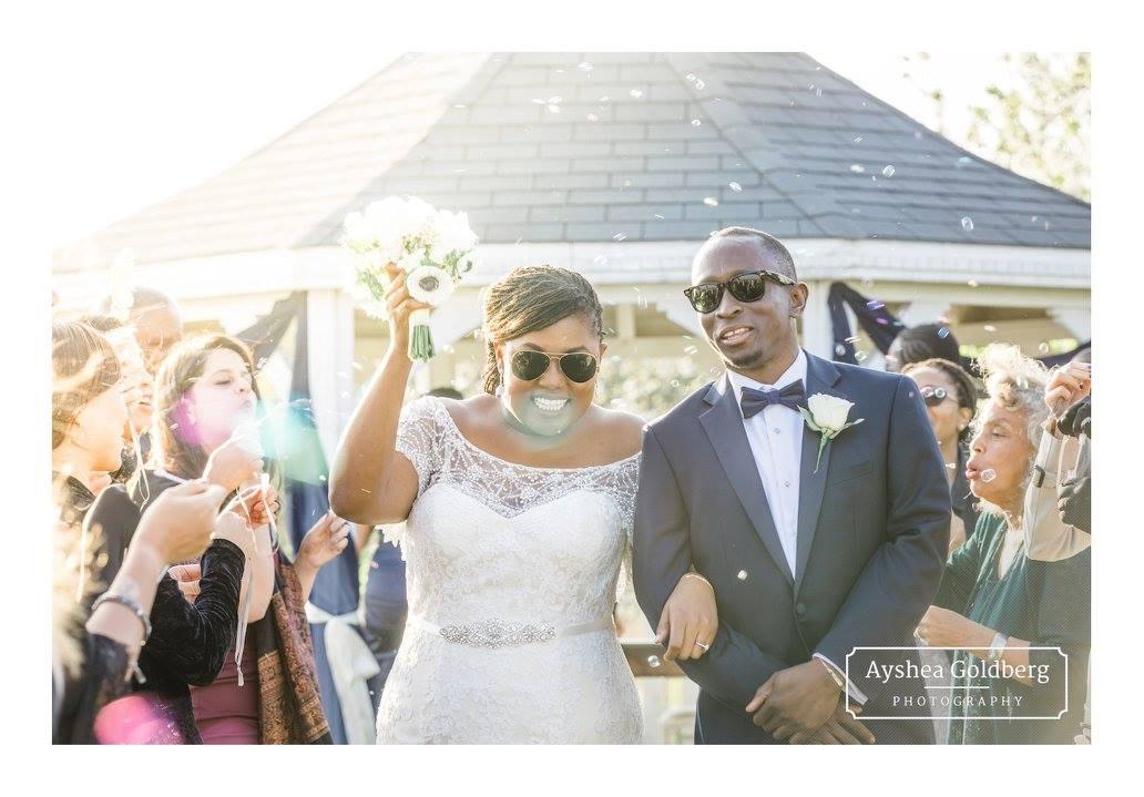 Kaari's wedding at Osea Island