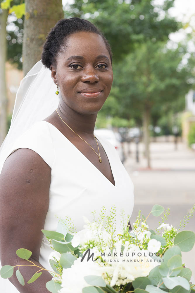 Amy's Wedding | Natural Hair Bride