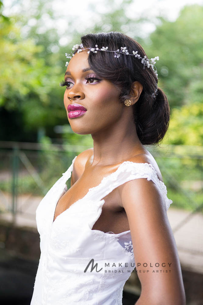 Bridal Makeup for black skin makeupology London