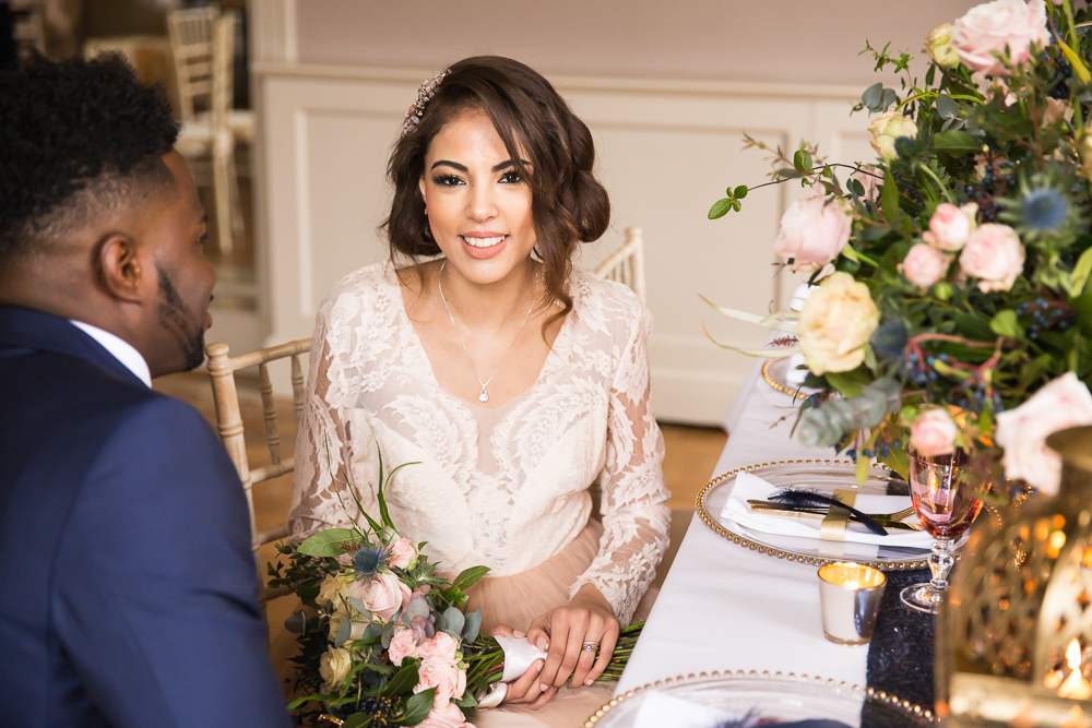 Bridal Makeup Artist for mixed race skin