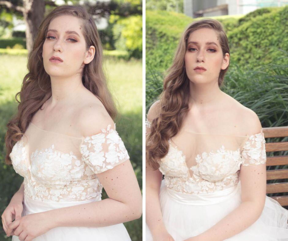 Soft, Modern Romantic Bridal Makeup