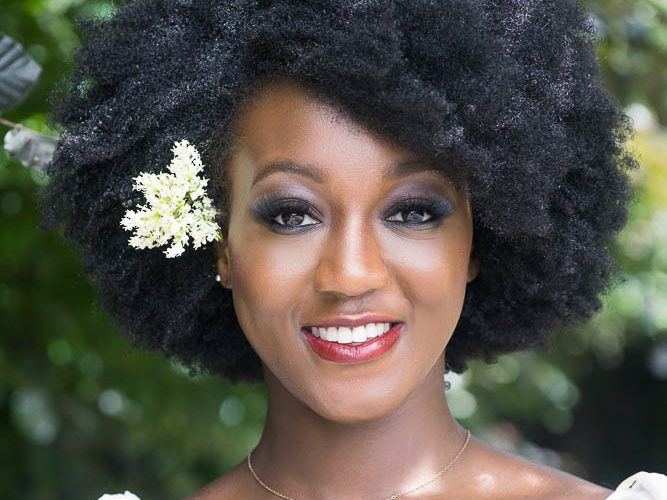 Bridal Makeup for Black & Mixed race skin