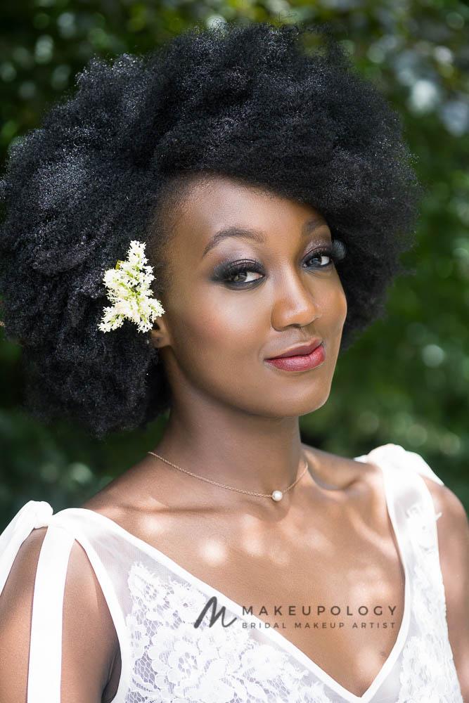 Makeupology Bridal makeup for Black & mixed race skin tones