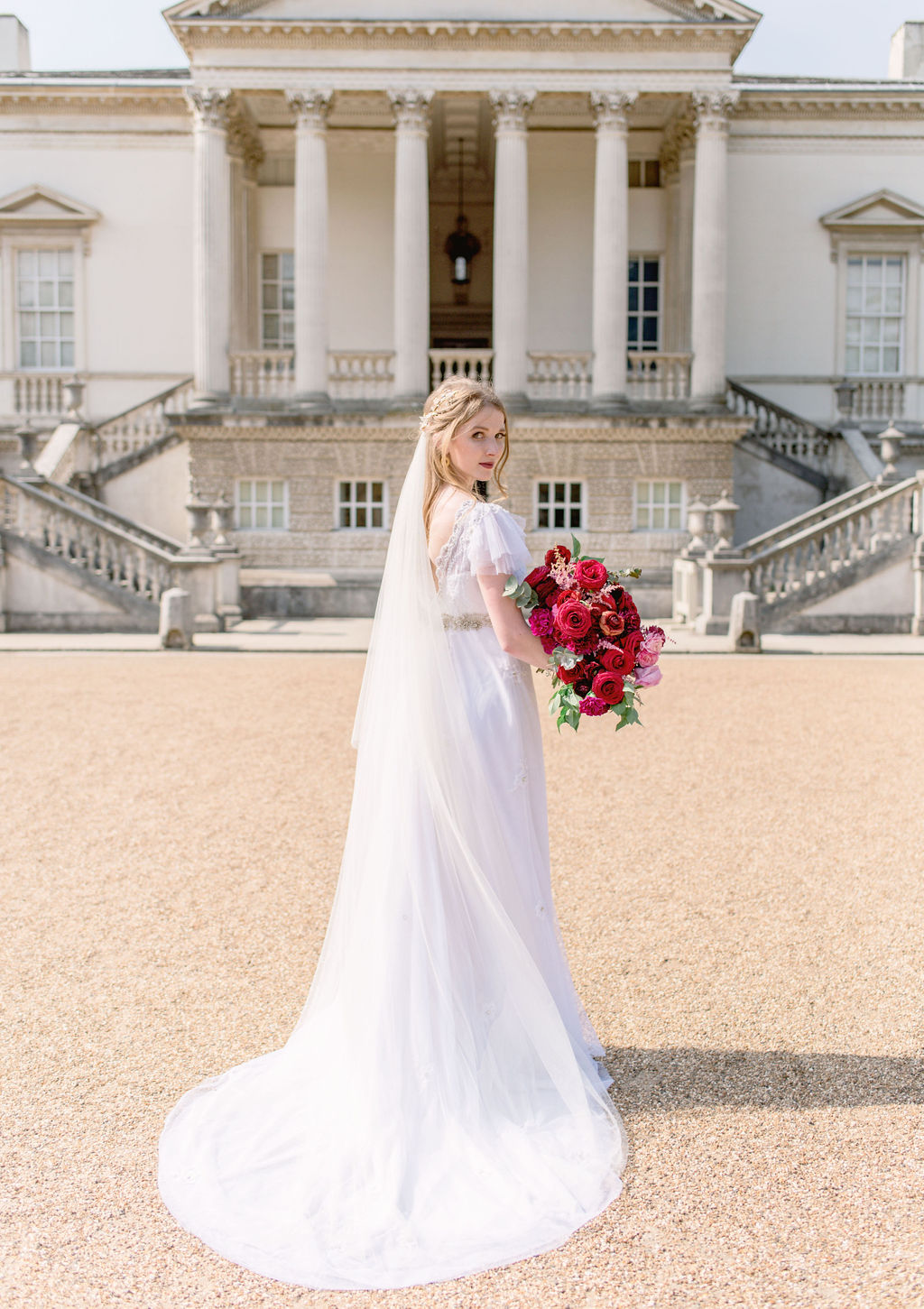 Chiswick House & Gardens Bridal Shoot
