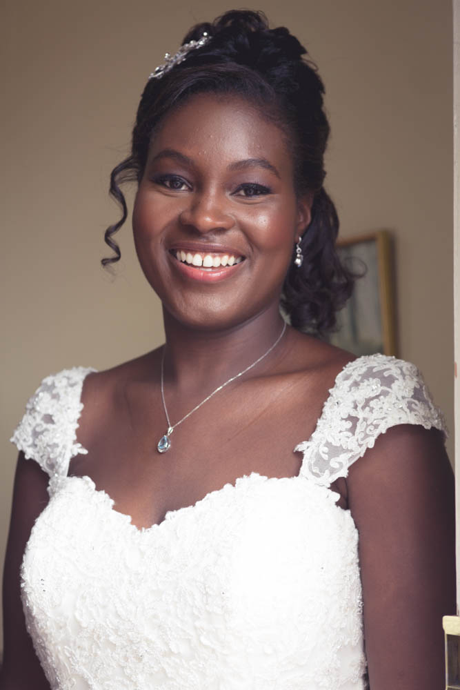 Bridal Makeup for Black skin by Makeupology