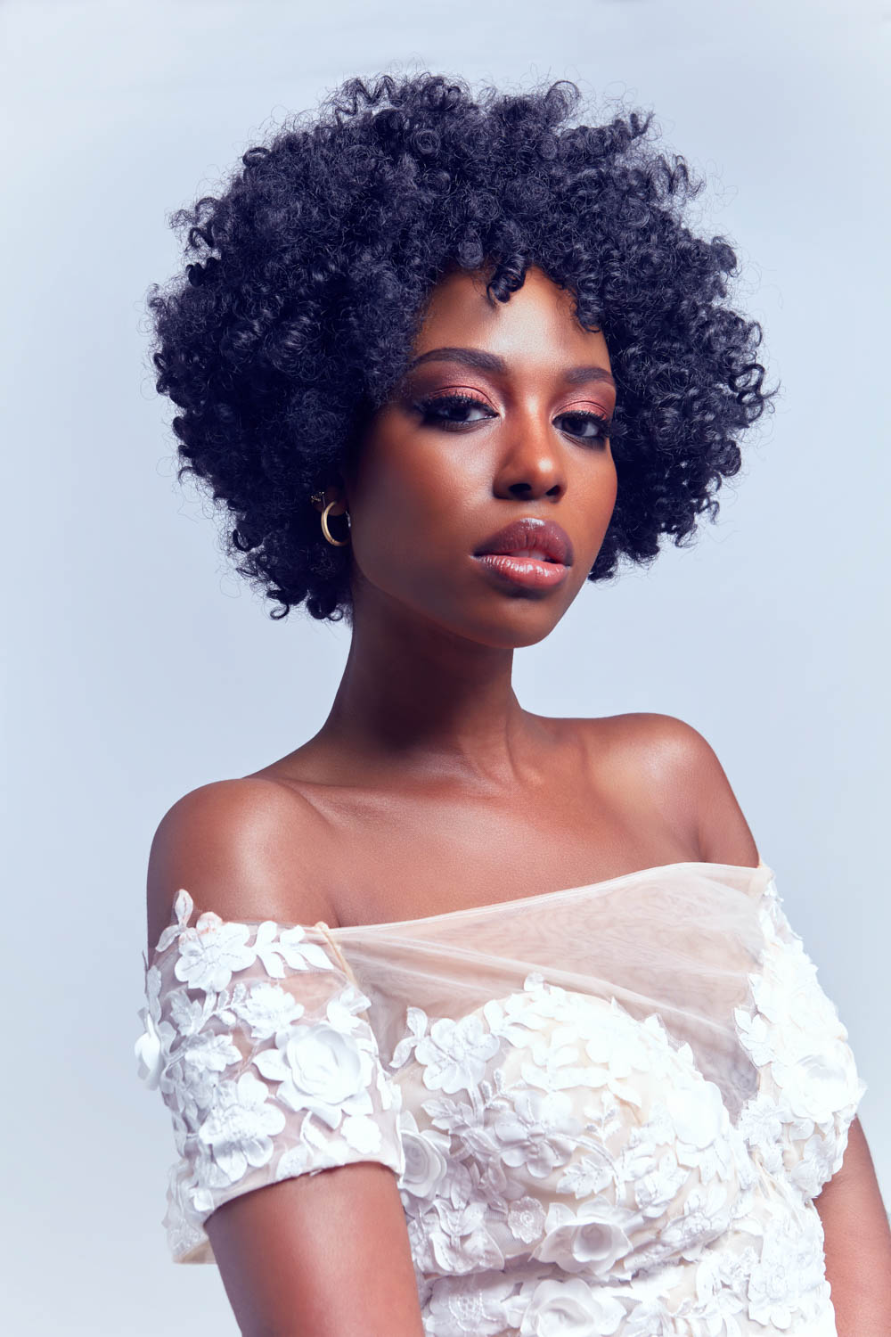 Bridal Makeup Looks for Black Skin